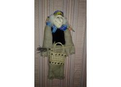 Баба-яга с корзинкой 7Б06