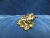 Трехлапая жаба с монеткой