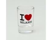 """Рюмка """" I love Belarus"""" 10В08-2"""