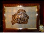 Панно с символом Беларуси Зубр 2Е36