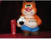 Копилка Кот с мячом 2Л59
